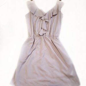 Double Zero | Light Purple Ruffle Dress sz small